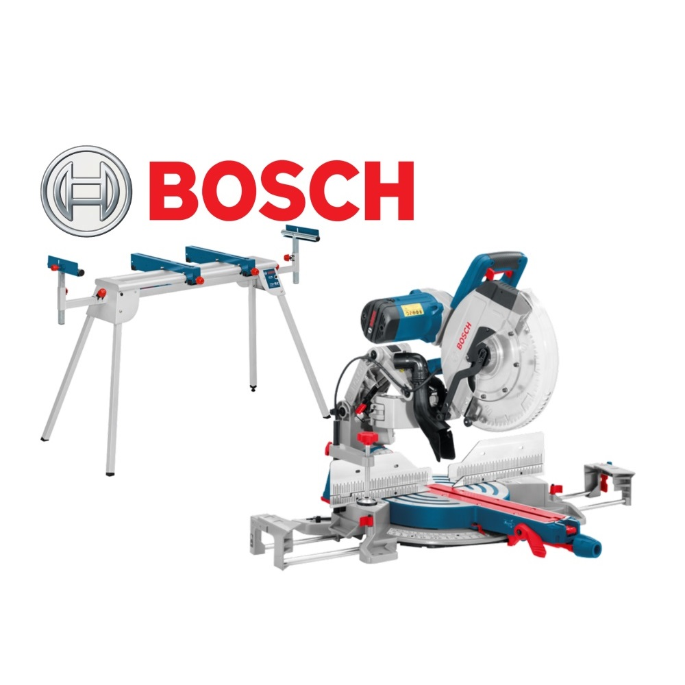 bosch gcm 12 gdl mitre saw gta2600 stand hardware centre. Black Bedroom Furniture Sets. Home Design Ideas