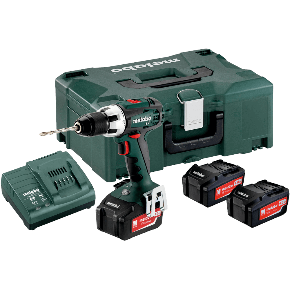 metabo sb18lt 18v drill set 2x4ah batt charger randburg only hardware centre. Black Bedroom Furniture Sets. Home Design Ideas