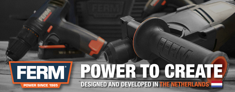 Ferm Power Tools web banner