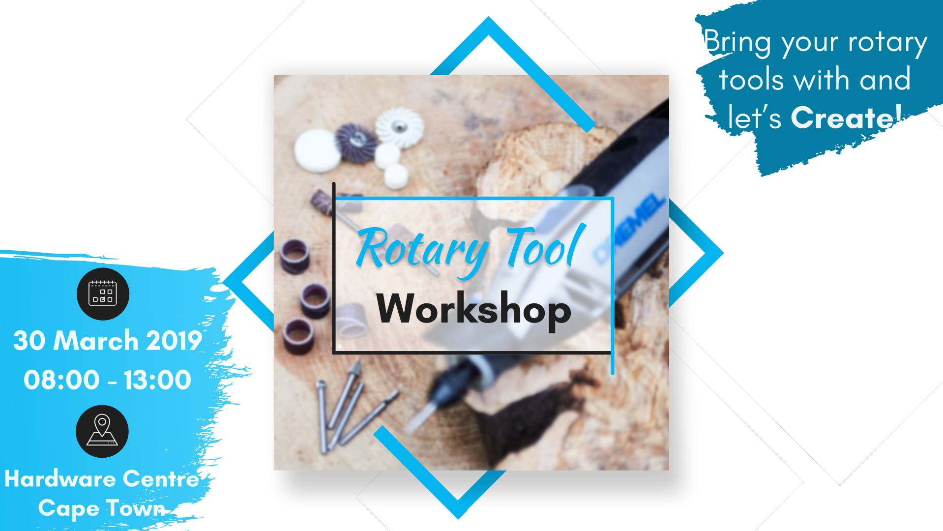 Rotary Tool Month – Cape Town – Hardware Centre